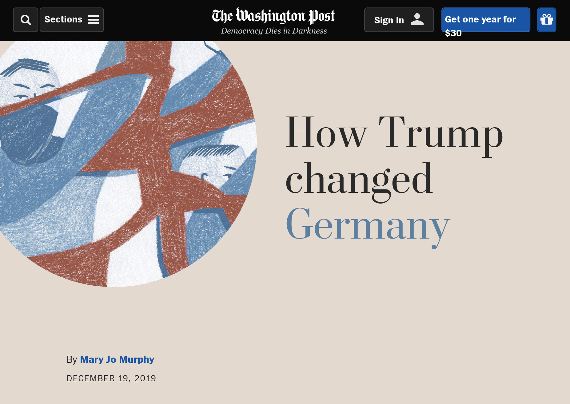 Tatjana Prenzel The Washington Post